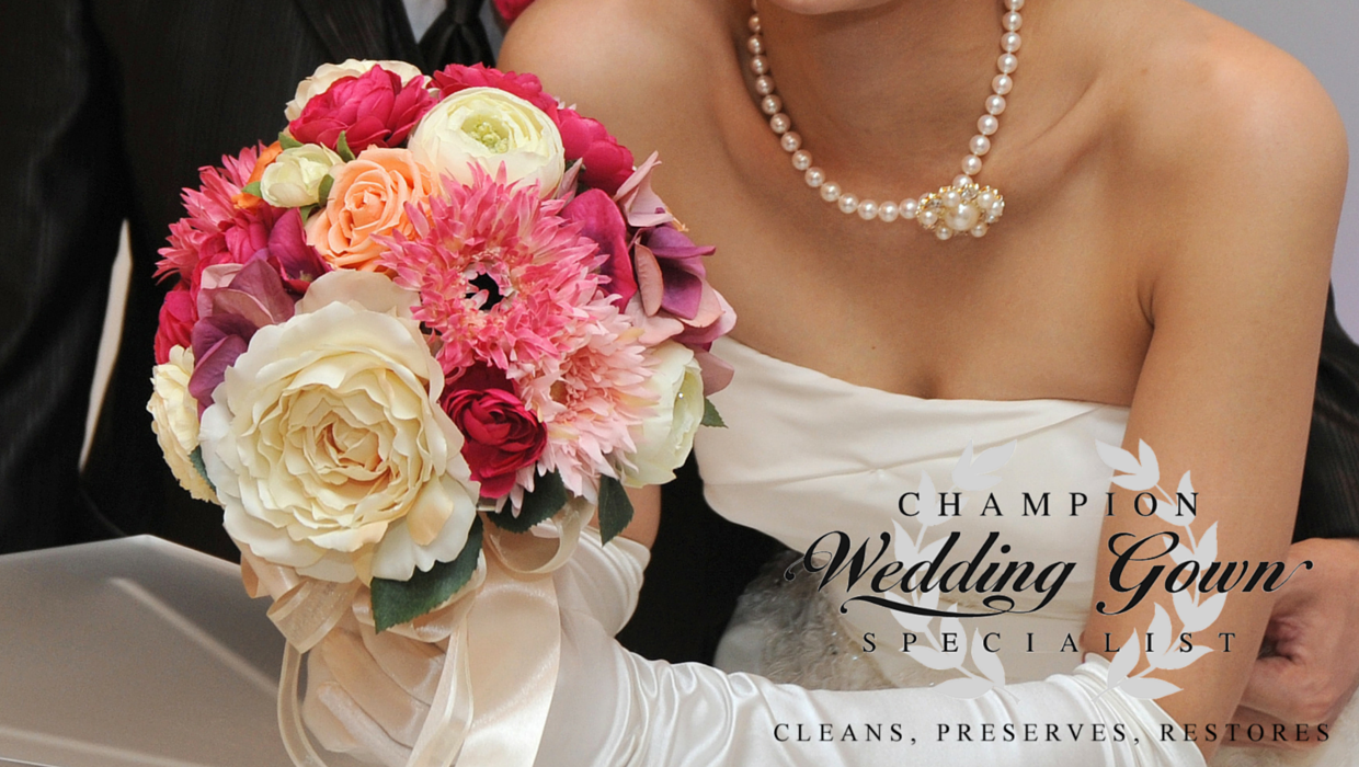 Champion Cleaners Wedding Gown Image
