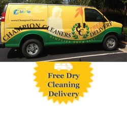 Image of Free Dry Cleaning Delivery Van