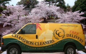 Champion Cleaners Pickup and Delivery