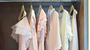 champion cleaners clothes in closet