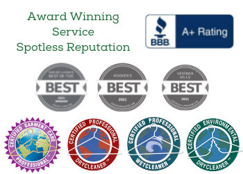 Champion Cleaners Award Winning Services